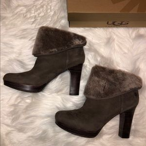 New Ugg heeled booties